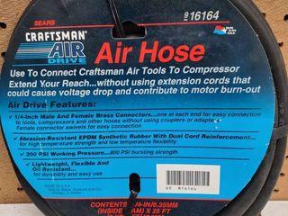 Craftsman Air Hose  8 Yards  1 4 Inch
