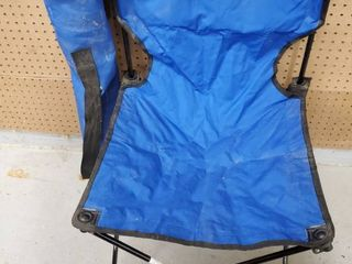 Blue lawn Chair with Traveling Bag