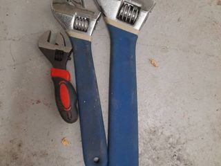 lot of 3 Crescent Wrenches