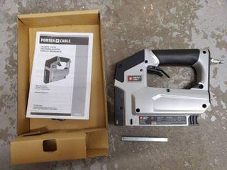 Porter Cable Pneumatic Stapler   Includes Manual  Crown Stapler