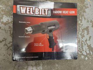 WEl BIlT 1600W Heat Gun  NIB