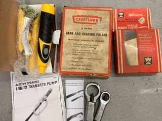 lot of Tools  Gear and Bearing Puller location Storage
