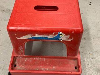 Kollercraft Plastic Mechanic Rolling Stool location Storage