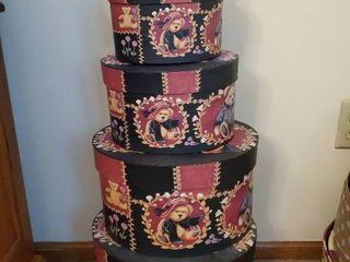 Victorian Teddies Bob s Boxes 5 Decorative Boxes