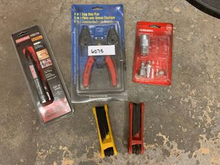 lot Of 5 Pieces Miscellaneous Garage Items