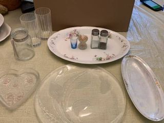 Homer laughlin Colonial Platter and Extras location Dining Room