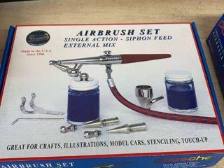 Paasche Air Brush Set location Workshop
