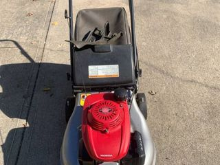 Honda GCV160 Self Propelled lawn Mower Works location Shed