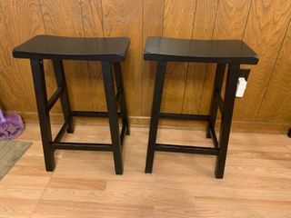 Nice Pair Of Bar Stools In Excellent Condition