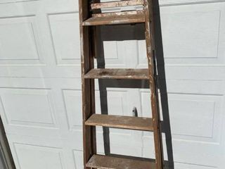 Six Foot Wooden Step ladder location Shed