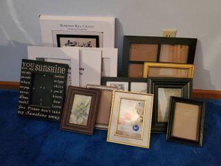 lot of Decor Photo Frames