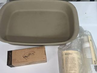 Pampered Chef 8 x 12 5 Inch Baker and Garlic Press location laundry Room