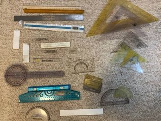 lot Of Drafting Tools and Templates