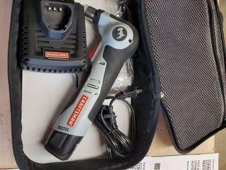 Craftsman NEXTEC   lithium Ion Cordless Auto Hammer Drill  with 12v Battery and Charger  Tested and Working  Included Manuals and Traveling Case