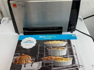 Ready Grill Tested And Working and a 3 Tier Adjustable Oven Rack Combo