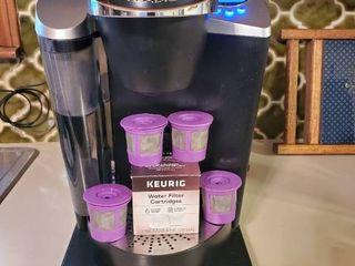 Keurig Black Coffee Brewer 5 Filters