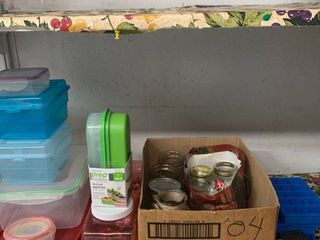 Storage Containers and Mason Jars location laundry Room