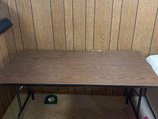 5 Foot Folding Table location Basement