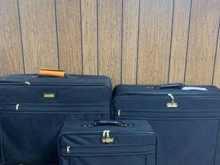 Three Piece Samsonite Tribute luggage location Basement lR