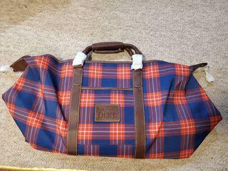 The Duke Plaid Traveling luggage