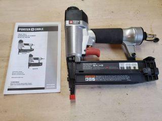 Porter Cable 18 Gauge Finish Nailer  Pneumatic  Includes Manual