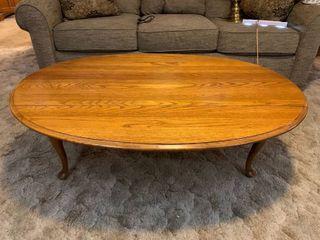 Oak Drop leaf Coffee Table