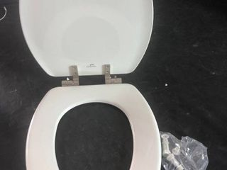 Church Fremont Elongated Sta Tite E 18 5  Toilet Seat