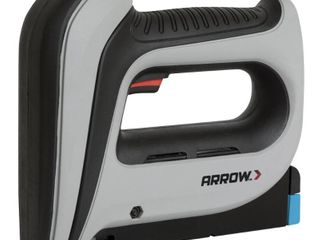 Arrow Fastener DIY Electric 16 Ga  3 8 in  Staple Gun Gray
