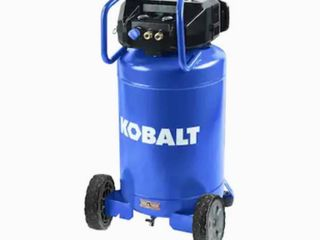 Kobalt 20 Gallon Single Stage Portable Corded Electric Vertical Air Compressor