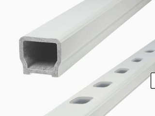 Grab   Go Railing Kit 6ft Classic Composite Railing Kit for 36in Railing Kit   White