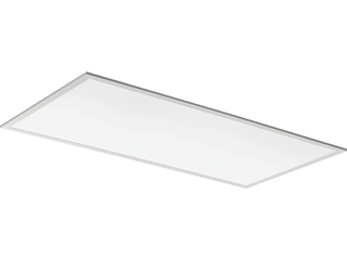 lithonia lighting Contractor Select CPX 2 ft  x 4 ft  40 Watt Integrated lED 4000 lumens 3500K White Flat Panel Recessed Troffer