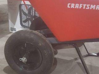 Craftsman Wheelbarrow  Missing Wheel Pin  Damage to Body