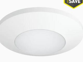 MisProgress lighting 7 5 in White Transitional led Flush Mount light Energy Star