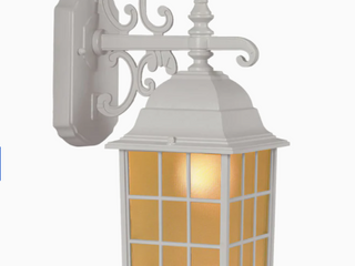 Portfolio 0048184 14 37  High Sand White Outdoor Wall light