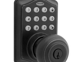 8732501 Electronic Entry Knob Door lock  Matte Black
