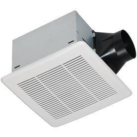 Utilitech 1 1 Sone 110 CFM White Bathroom Fan ENERGY STAR