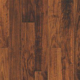 Natural Floors by USFloors Exotic 4 72 in W Prefinished Acacia locking Hardwood Flooring  Natural
