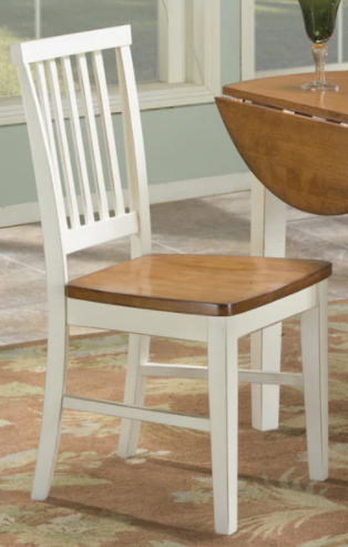 Copper Grove Impatiens Slat Back and Wooden Dining Chair  Set of 2  Retail 158 99