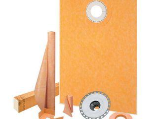 Schluter Kerdi Shower Kit 38  x60  Offset PVC Flange