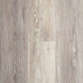 STAINMASTER 10 Piece 5 74 in x 47 74 in Washed Oak  Dove Gray Floating Rustic luxury Vinyl Plank Residential Vinyl Plank