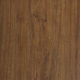 STAINMASTER 10 Piece 5 74 in x 47 74 in Handscraped  Retreat Cherry Floating Oak luxury Vinyl Plank Residential Vinyl Plank