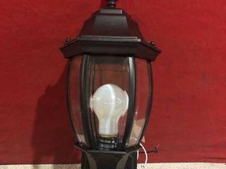 Heath Zenith Wall Mount Outdoor lantern light Fixture