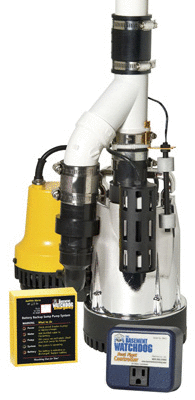 Glentronics  Inc  DFK 961 1 3 Horsepower Basement Watchdog Submersible Combination Sump Pump System
