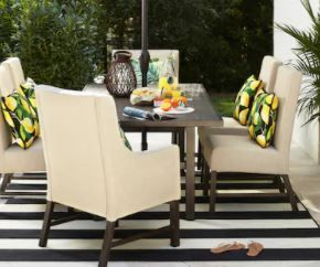 Allen   Roth Riverchase Dining Chairs   Set of 2