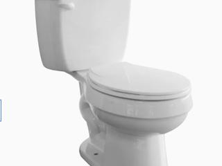 Colby White Toilet