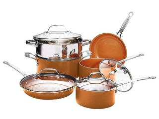 Gotham Steel 10 Piece Kitchen Set with Non Stick Ti Cerama Coating