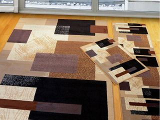 SOHO BROWN Rug from the MANHATTAN Collection  57 x 88  by United Weavers