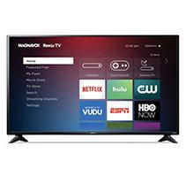 MAGNAVOX 55  Class 4k Ultra HD Roku Smart lED HDTV w  High Dynamic Range   55MV379R F7