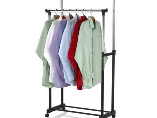 Home Basics Double Garment Rail