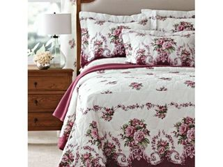 PDK Bloomfield Rose Mitred Cornered Bedspread